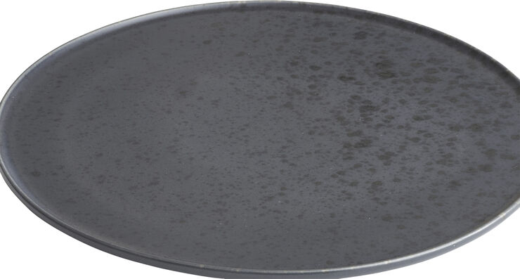 Ombria tallerken 27 cm. måneskinsblå