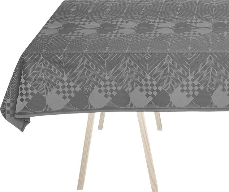 CHRISTMAS tablecloth, Winter Grey