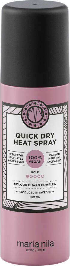Quick Dry Heat Spray