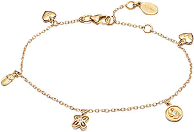 People Bracelet VERMEIL (925 Sterling silver gold plated 2.5 micron)