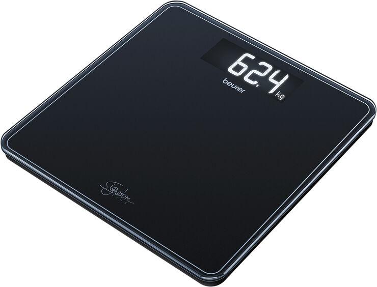 Glasvægt i sort GS 400