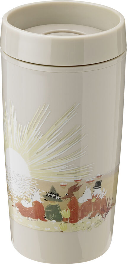 BRING-IT to-go kop, 0,34 l. - sand - Moomin