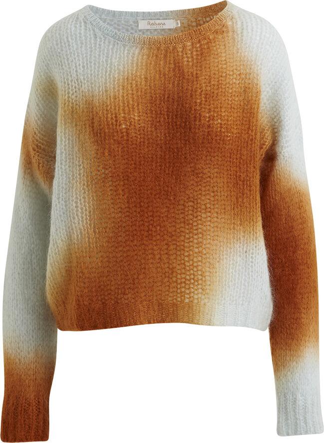 Soft blend boxy sweater