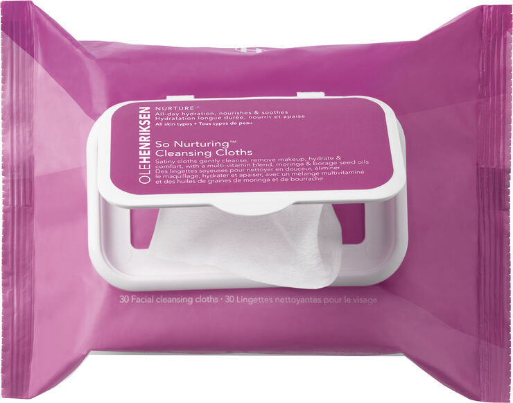 So Nurturing Cleansing Cloths 30 ml.