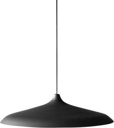Circular Lamp, Black