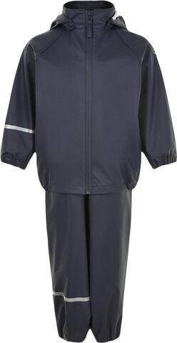 Basic rainwear set -Recycle PU