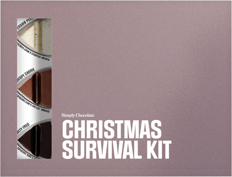 12 pcs, Christmas Survival Kit Box (120 g)