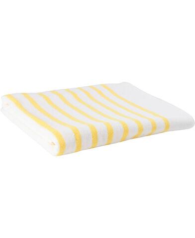 Beach towel yellow 100x180 cm.