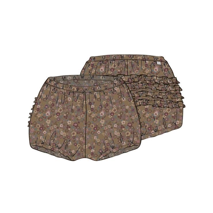 Nappy Pants Ruffles