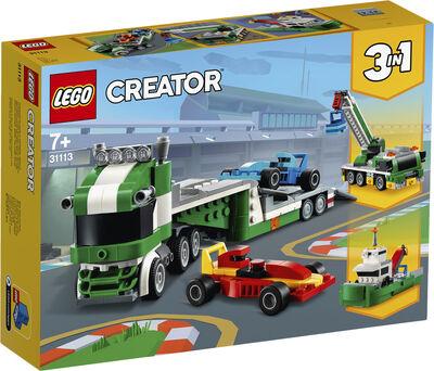 Racerbil-transporter