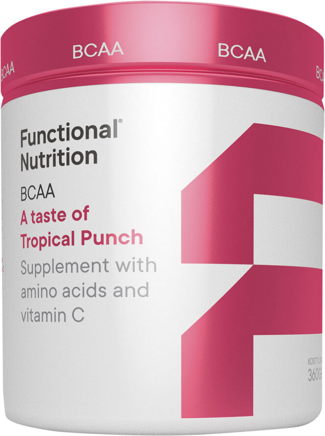 BCAA - A taste of Tropical Punch 360g