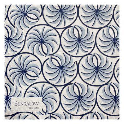 Paper Napkin Palm Sky Blue 50pcs