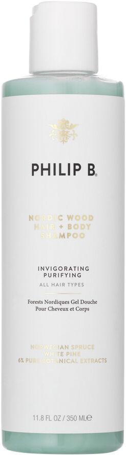 Nordic Wood Hair & Body Shampoo 350 ml.