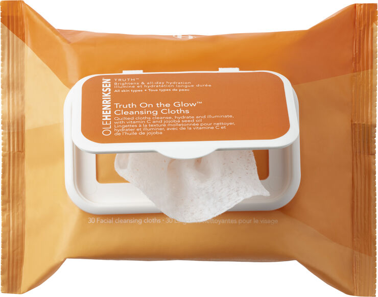 Truth On The Glow Cleansing Cloths 30 ml.