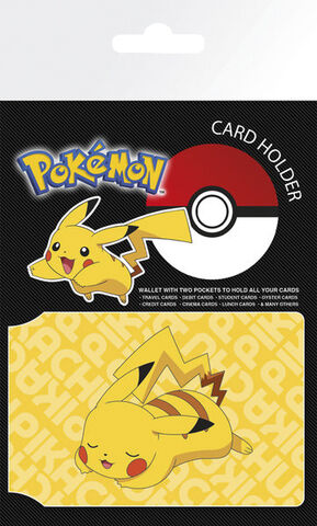 Pokemon Card Holder - Resting Pikachu