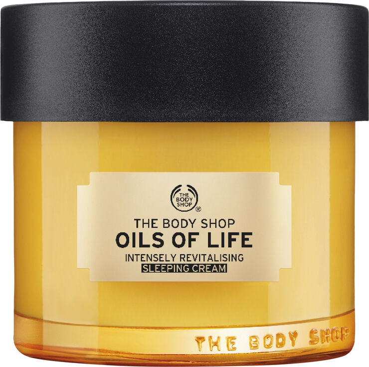 Oils Of Life™ Intensely Revitalising Sleeping Cream