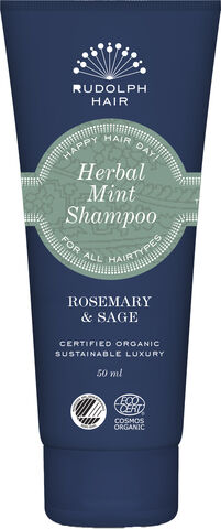 Herbal Mint Shampoo - Travelsize 50 ml.