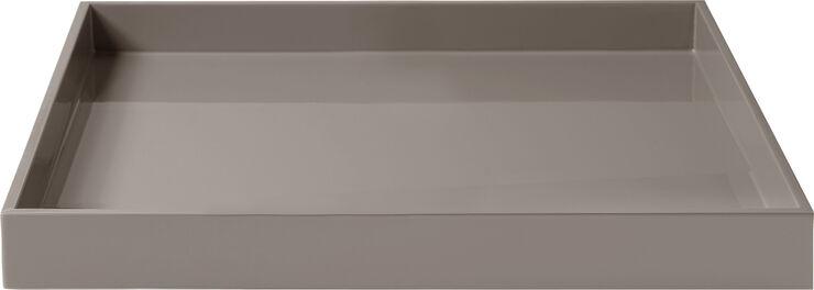 Lux Lak bakke 30*30*3,5 Warm Grey