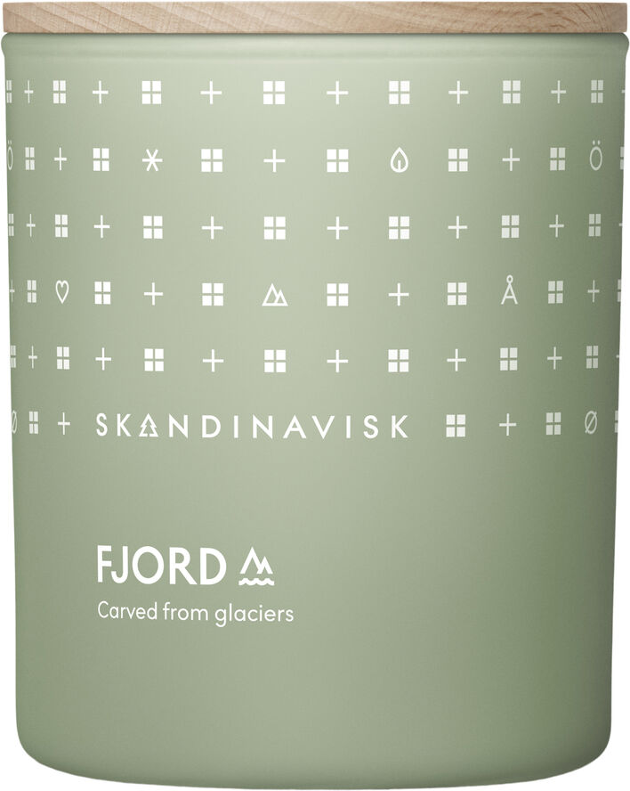 FJORD Scented Candle w Lid 200g