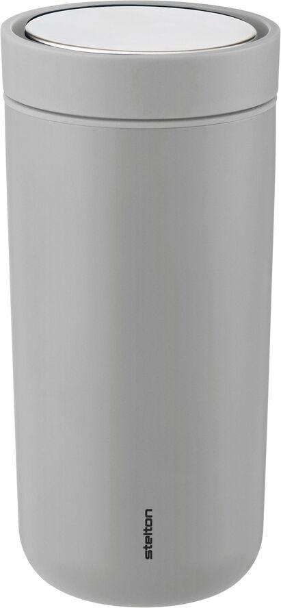 To Go Click d. steel, 0,4 l. - mat light grey