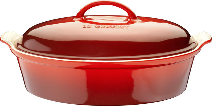 Oval stegeso 2,9 L/36 cm, Cerise