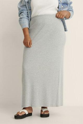 Rib Maxi Skirt