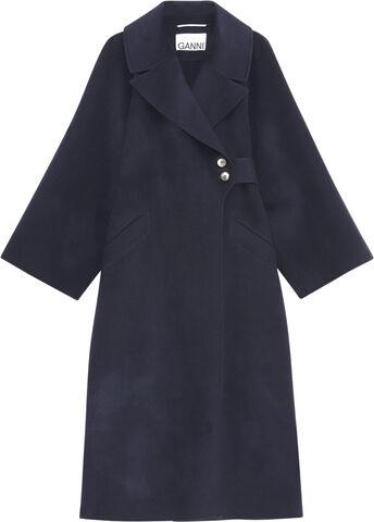 F6169 Asymmetrisk slå-om-frakke