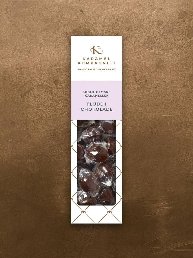 Fløde i chokolade