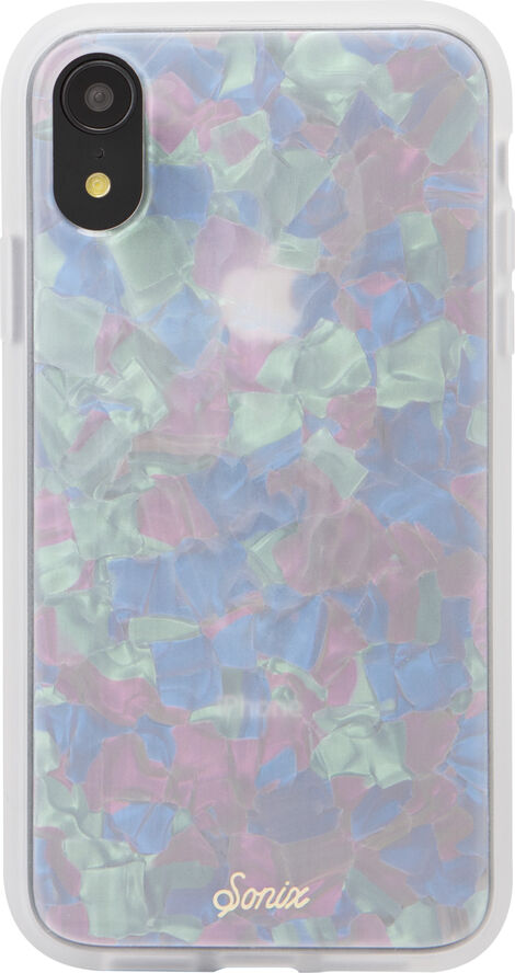 TORT LUXE CASE FOR IPHONE XR - PEARL