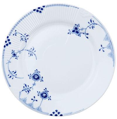 Blå Elements 22 cm. tallerken