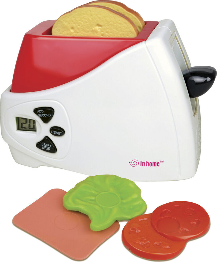 Toaster m/lys & lyd