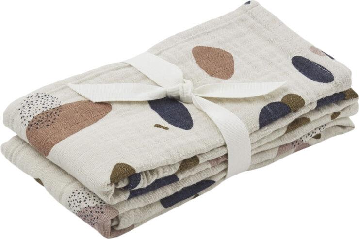 Lewis muslin cloth 2-pack