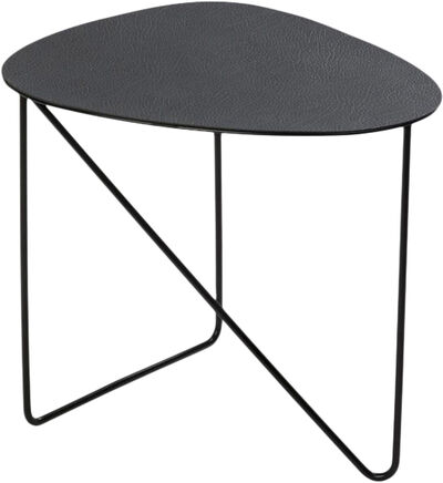 COFFEE TABLE CURVE M 40X43X37CM HIPPO black-anthracite  / ST