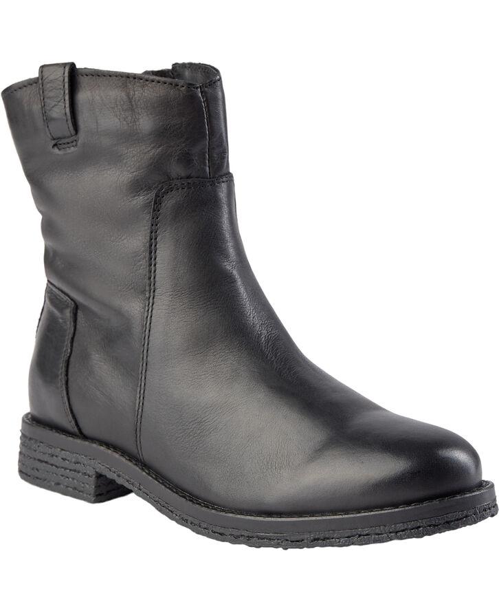 Fatalia læderstøvle m.for
