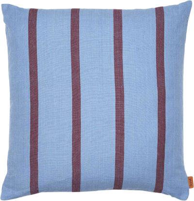 Grand Cushion - Faded Blue/Burgundy