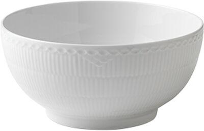 Hvid halvblonde 310 cl. skål