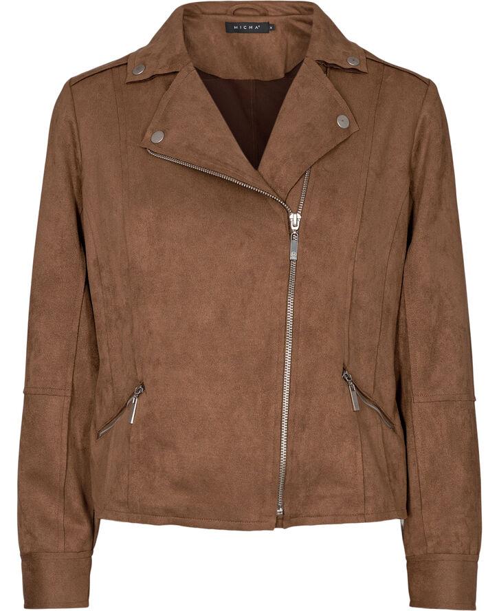 Jacket _ Suede Look