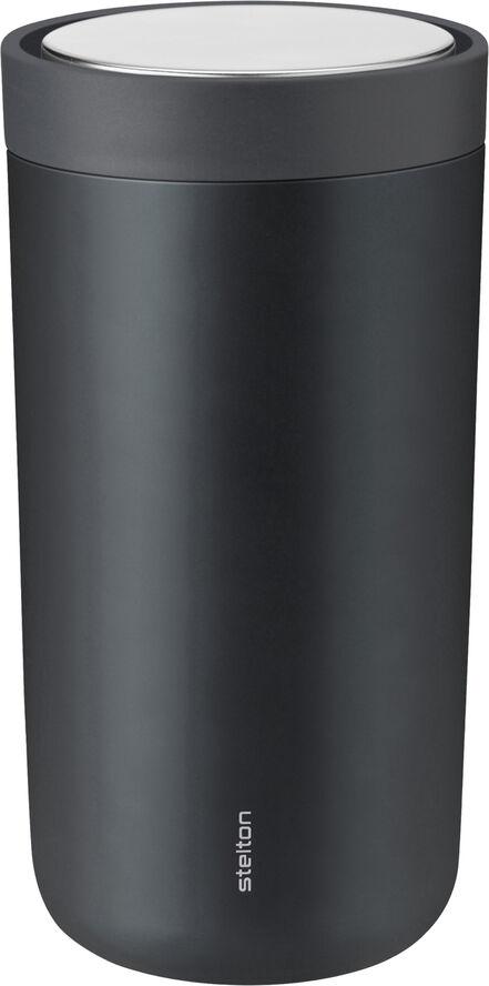 To Go Click d. steel, 0,2 l. - granite grey/metallic