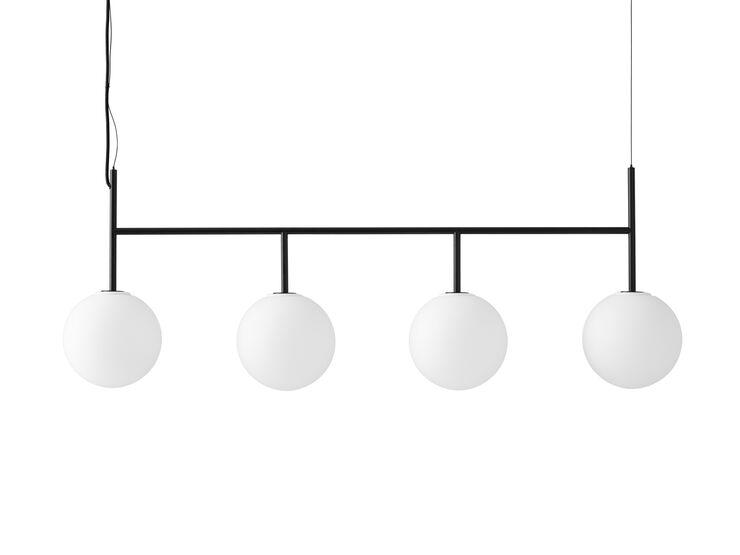 TR Bulb, Suspension Frame, Black w. Matt Opal Bulb