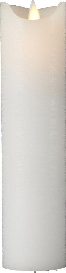 Sara Excl. White,Ø5xH12,5cm,Alu. Bottom, w/Sensor