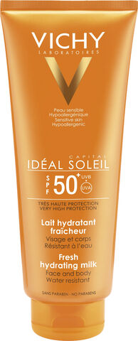 Idéal Soleil sollotion krop SPF 50+ 300 ml.