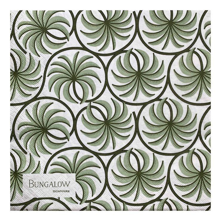Paper Napkin Palm Ivy 50pcs