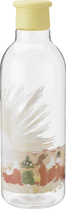 DRINK-IT vandflaske, 0,75 l. - yellow - Moomin