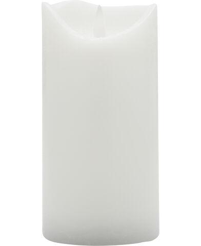 Sara ekskl. Ø7,5xH15cm, Hvid