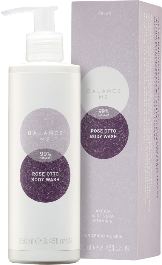 Balance Me Rose Otto Body Wash