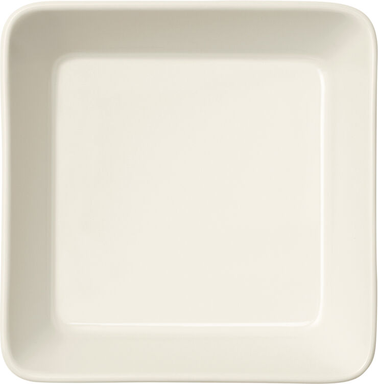Teema 12x12cm fad hvid