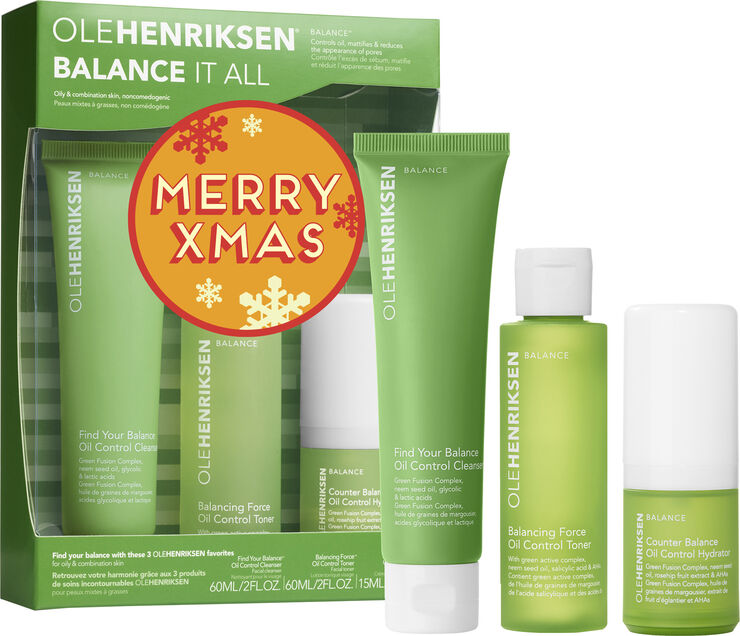 OLE HENRIKSEN Sæt - Balance It All