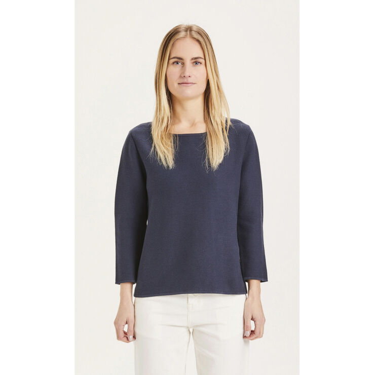 MYRTHE crew neck knit - GOTS/Vegan