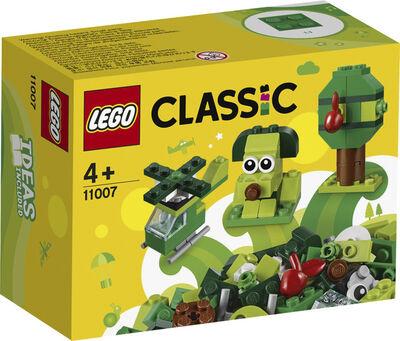 Kreative grønne klodser