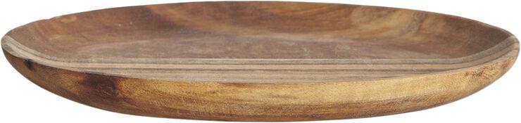 Bakke, Nature, 15x11 cm, h: 1,7 cm - Nw0110